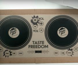 pizza hot caja dj