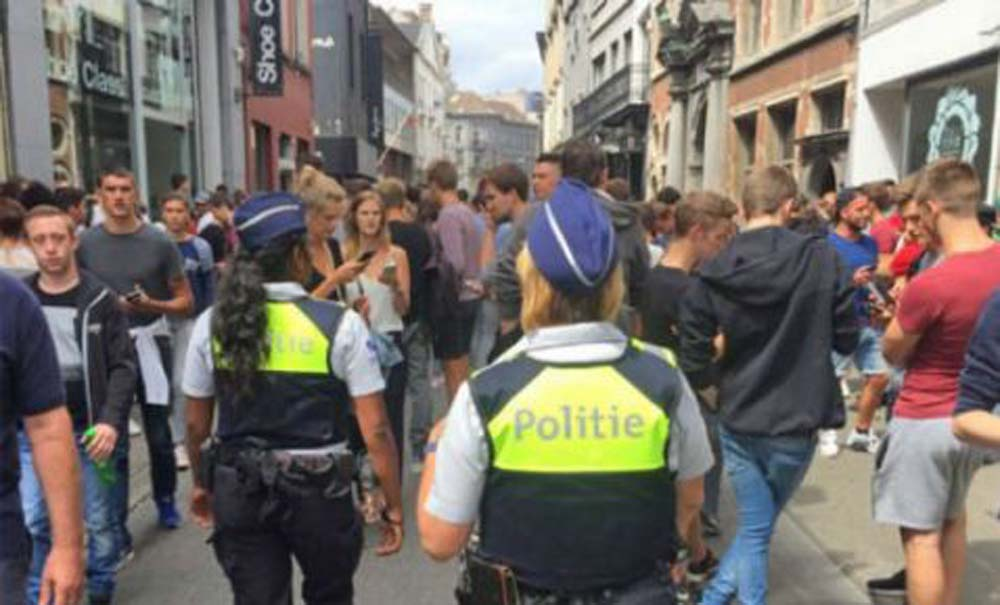 policia belgica