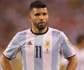Sergio Aguero no podrá jugar con la selección de Argentina en la eliminatoria de cara a Rusia 2018