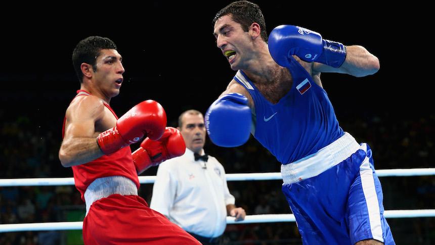 Zoirov Shakhobidin vs Aloian Misha final de box en la categoría 52 kilos
