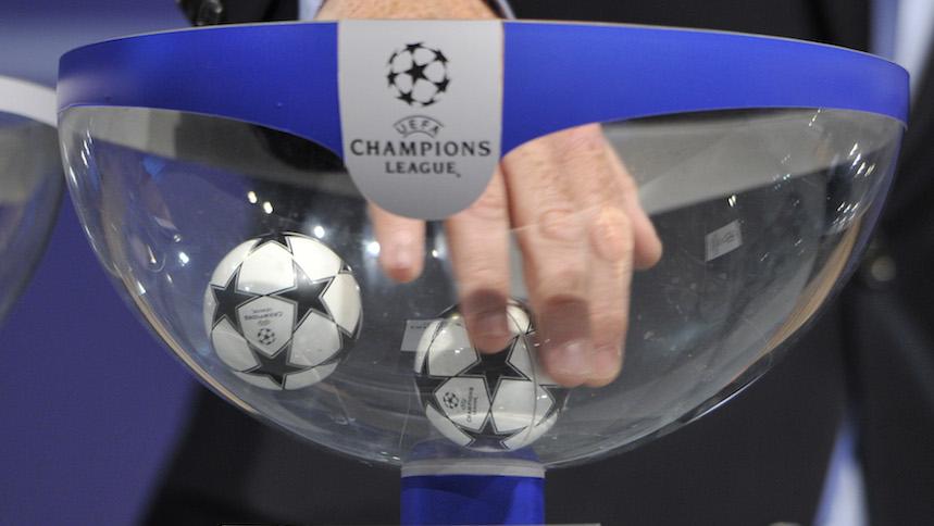 Así quedaron los bombos para el sorteo de la Champions League