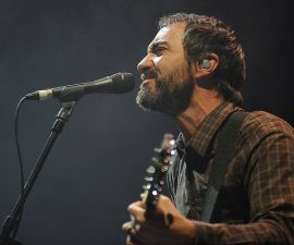 BYRON BAY, AUSTRALIA - JULY 27:  James Mercer of The Shins performs on stage at Splendour In The Grass on July 27, 2012 in Byron Bay, Australia.  (Photo by Matt Roberts/Getty Images)