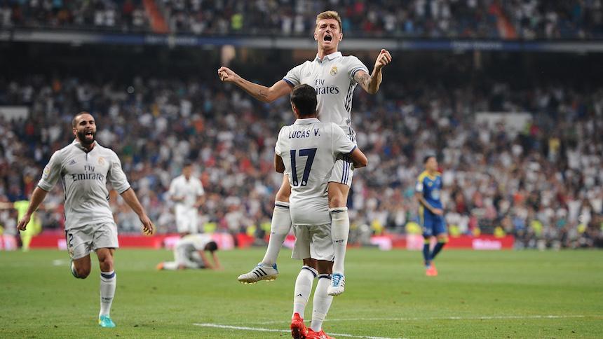 Sufrido triunfo del Real Madrid sobre Celta de Vigo
