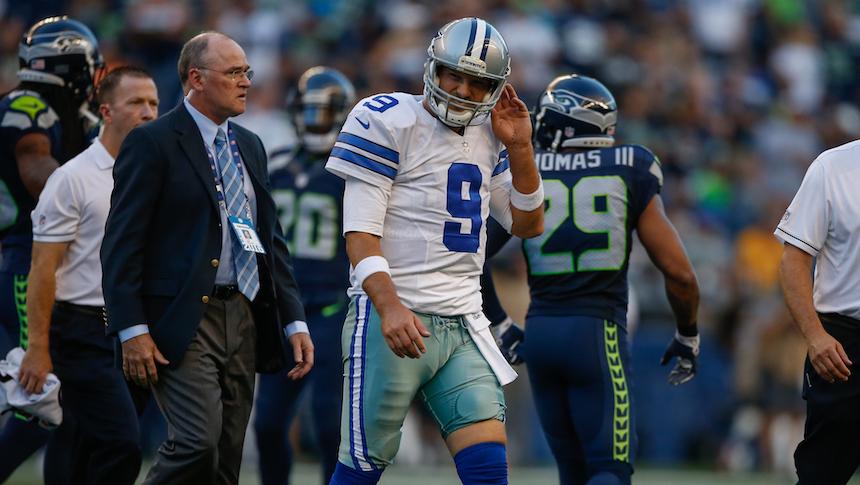 Tony Romo sí está lesionado y se perderá el inicio de la campaña