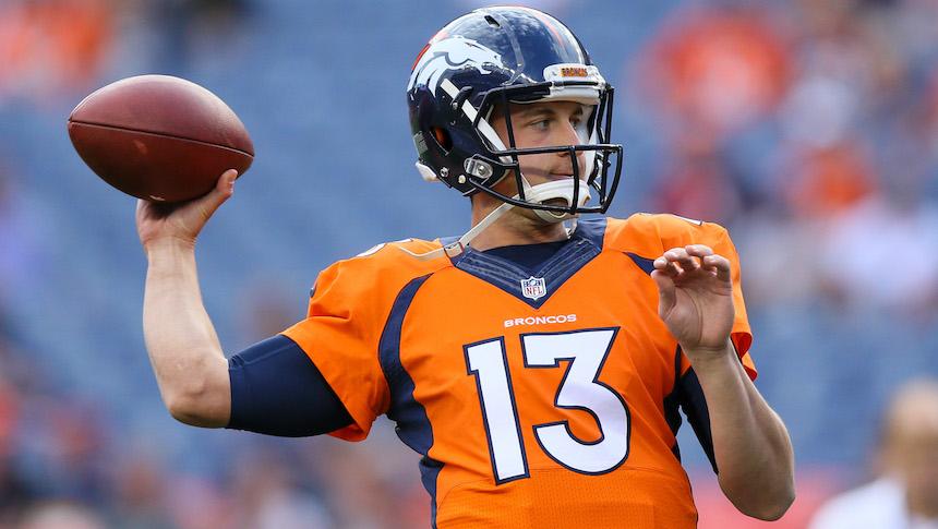Trevor Siemian será el QB titular de los Denver Broncos