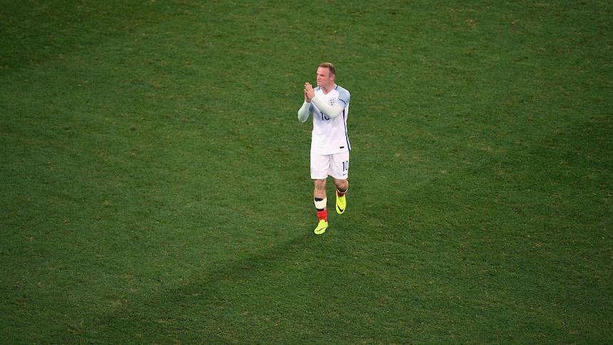 Wayne Rooney se irá de la selección de Inglaterra después del 2018
