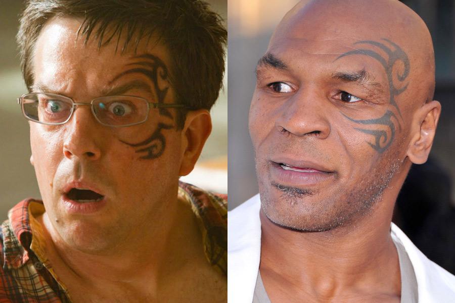 Tatuaje - Ed Helms - Mike Tyson.