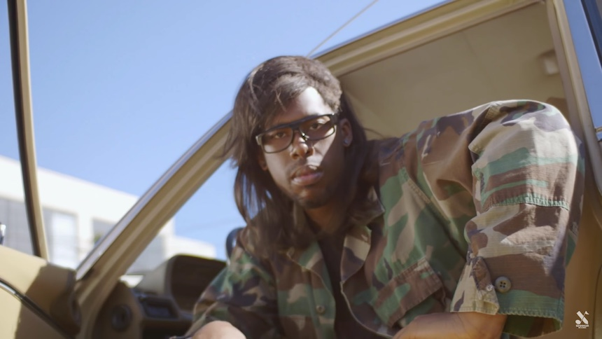 Flying Lotus se disfraza como Skrillex para el video promocional de Mr. Oizo