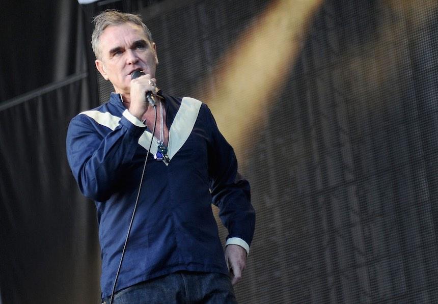 Morrissey toca en vivo un cover a los Ramones