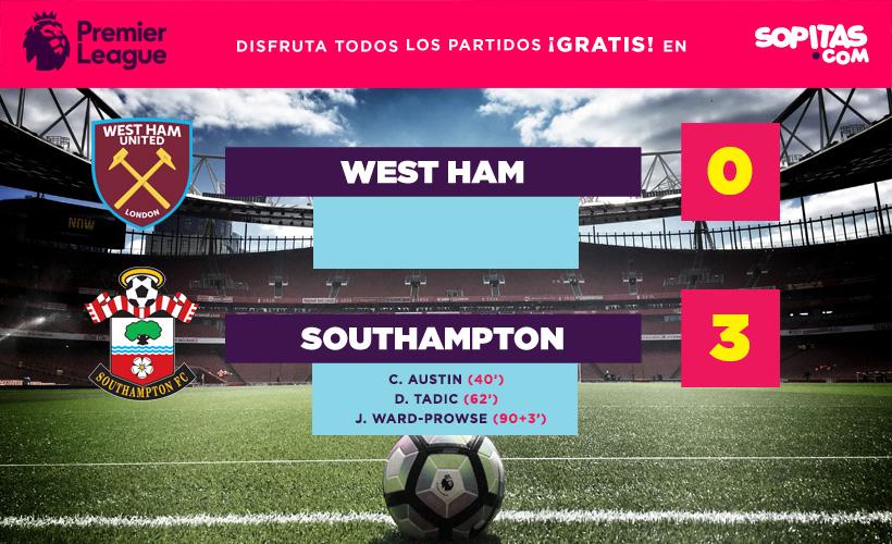 West Ham sigue en picada