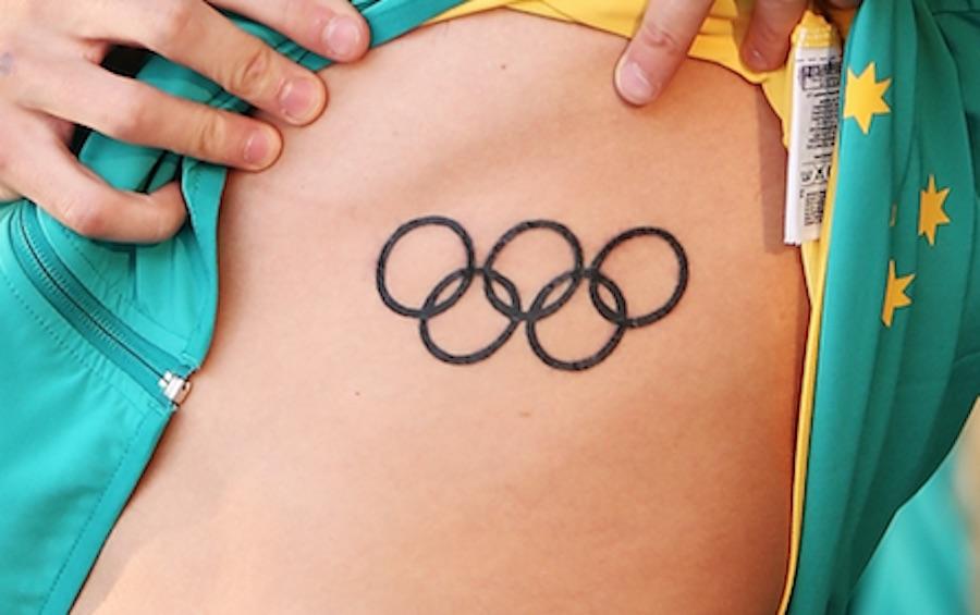 Tatuaje - Aros Olímpicos.
