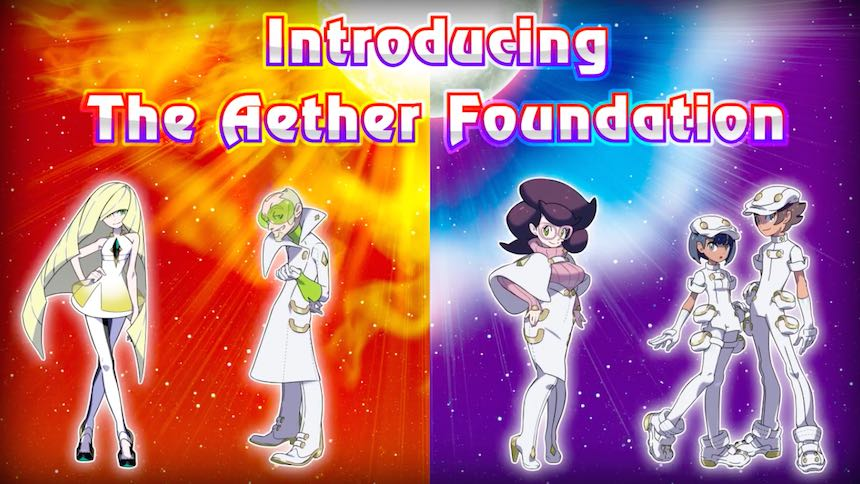 Aether Foundation Pokémon Sun/Moon