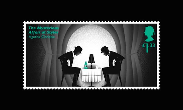 Para celebrar el nacimiento de Agatha Christie el correo inglés puso en circulación seis estampillas