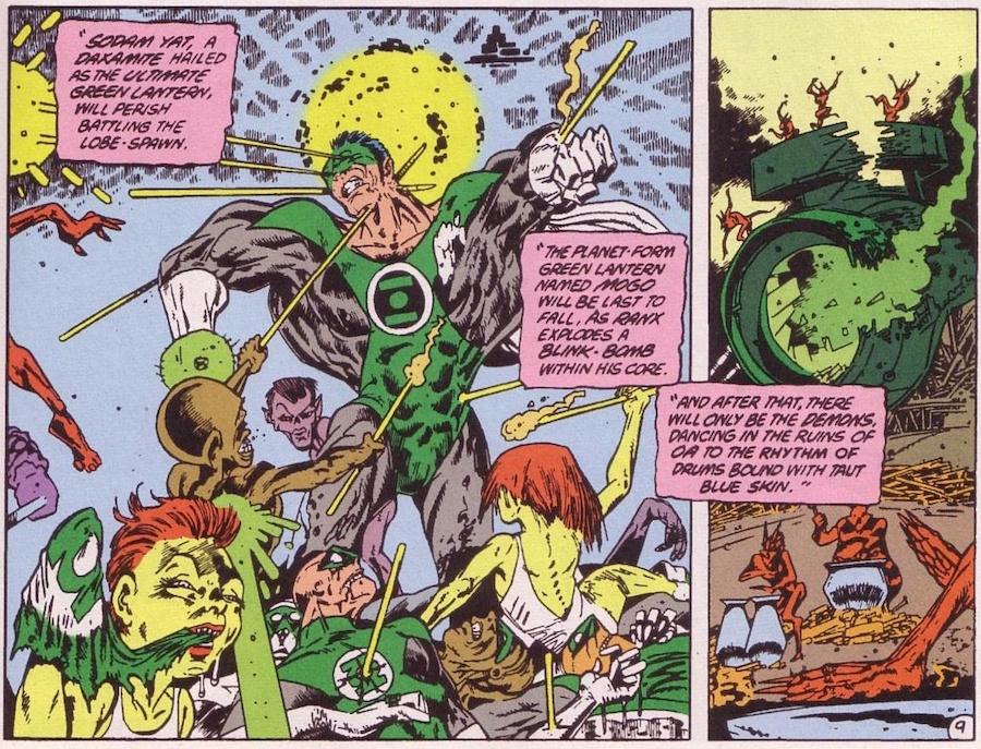 Alan Moore - Green Lantern