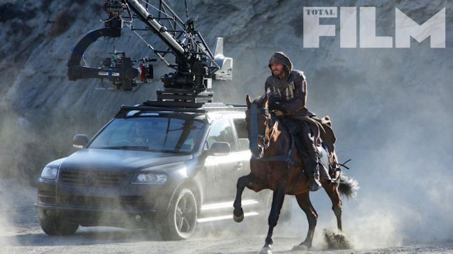 Foto del set de Assassin's Creed