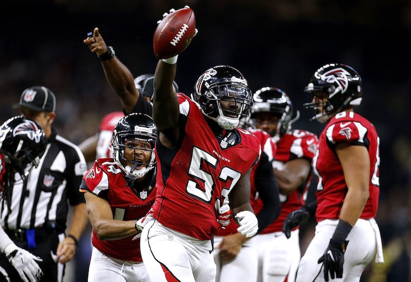 Atlanta arrasa sobre New Orleans en el Monday Night Football