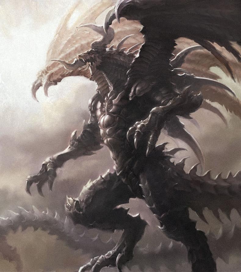 Bahamut Rey de los Dragones