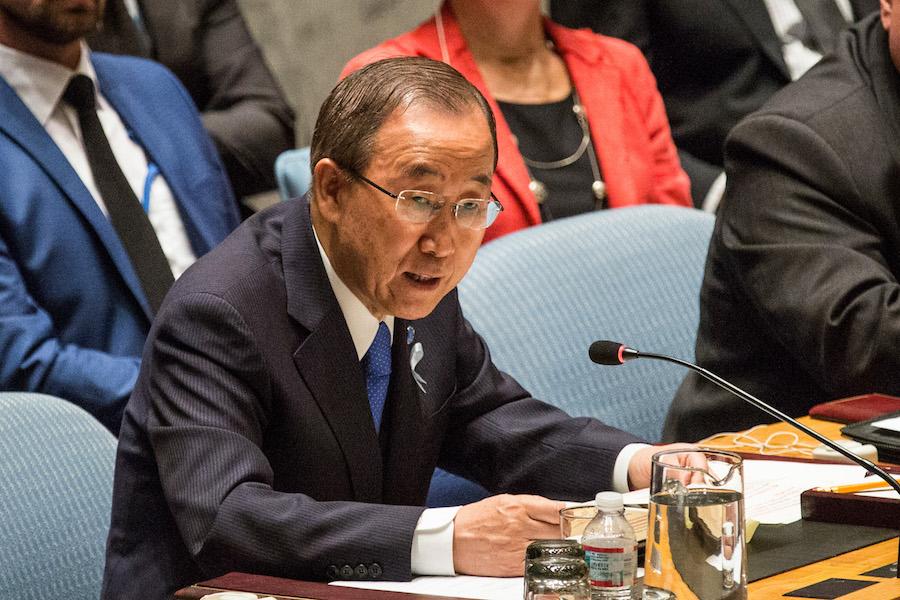 Ban Ki Moon condena la más reciente prueba nuclear de Corea del Norte