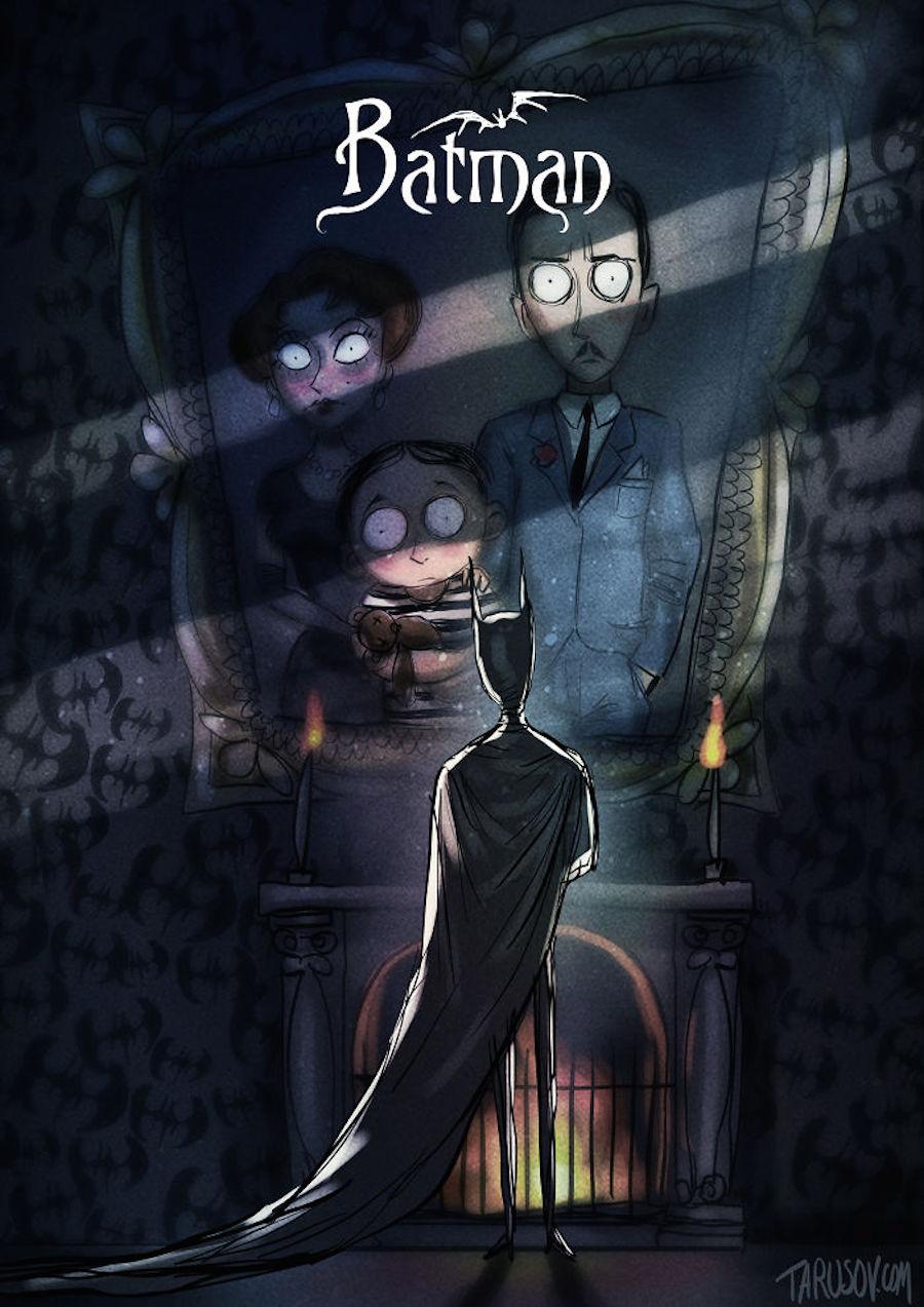 Tim Burton - Batman dibujo