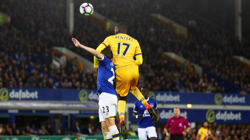 Benteke empató el partido contra el Everton