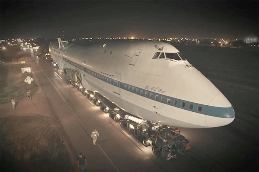 Boeing 747 Burning Man 2
