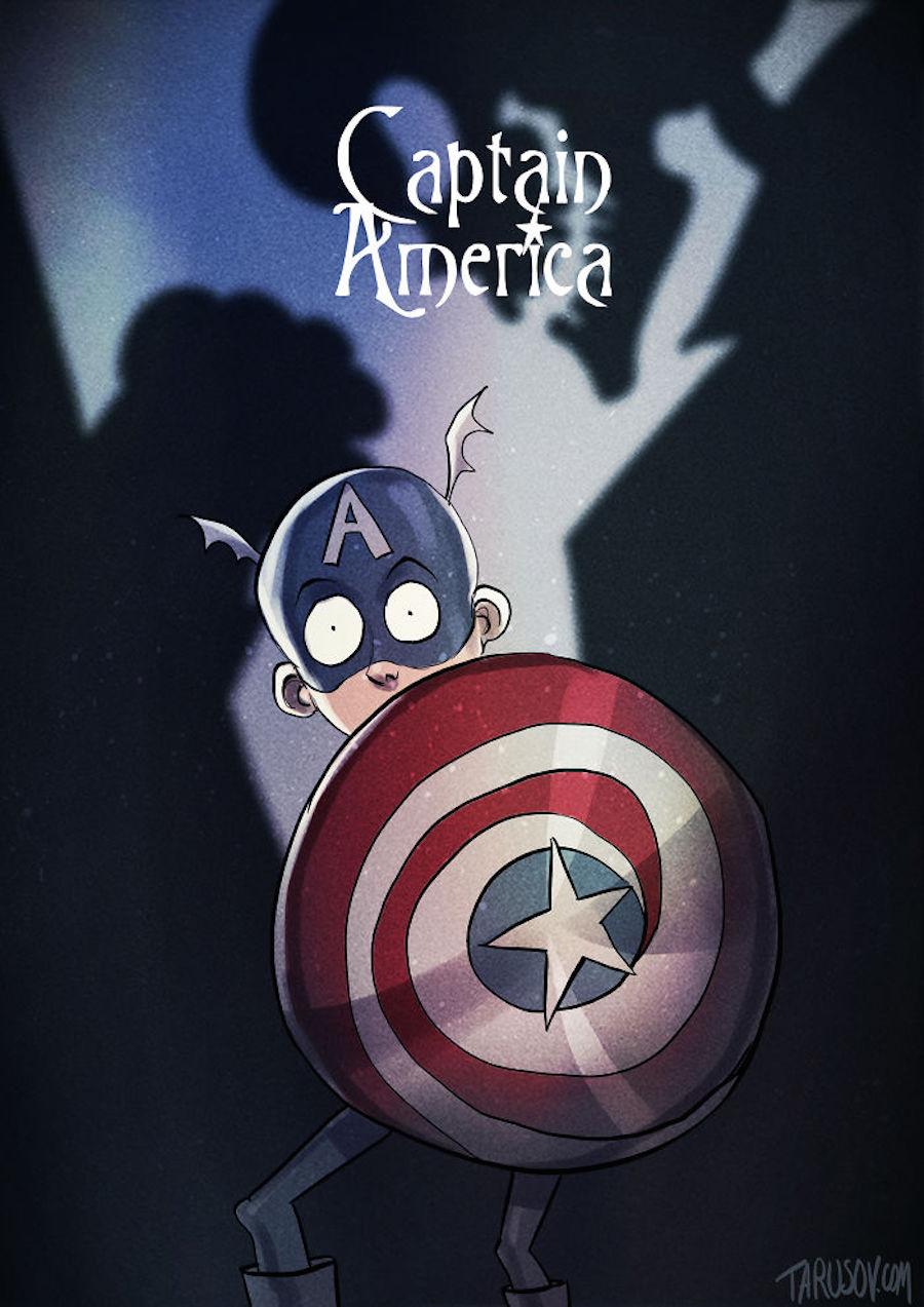 Tim Burton - Captain America