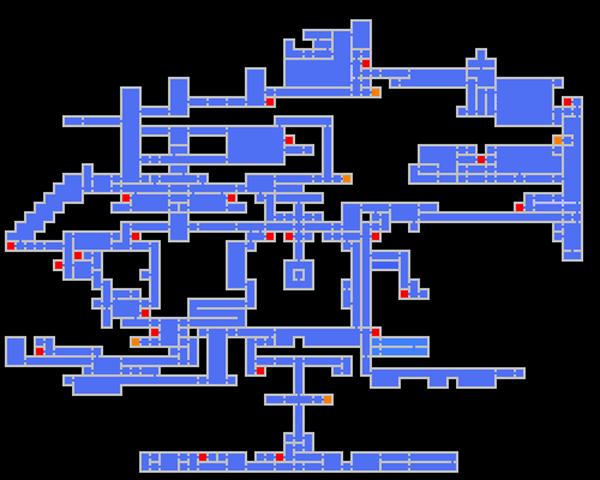 Castlevania: Symphony of the Night Mapa
