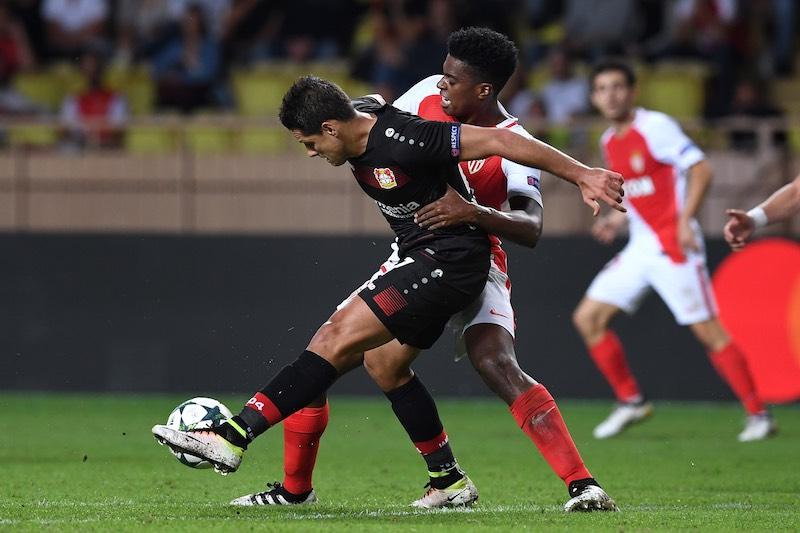 Mira el gol de Chicharito Hernández con el Leverkusen en la UEFA Champions League