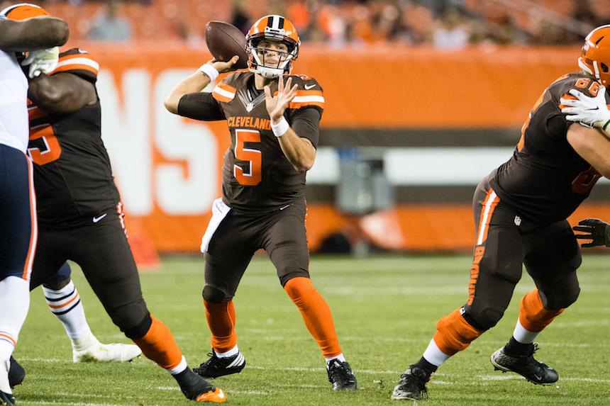 Cody Kessler tendrá la responsabilidad de liderar al equipo de los Browns