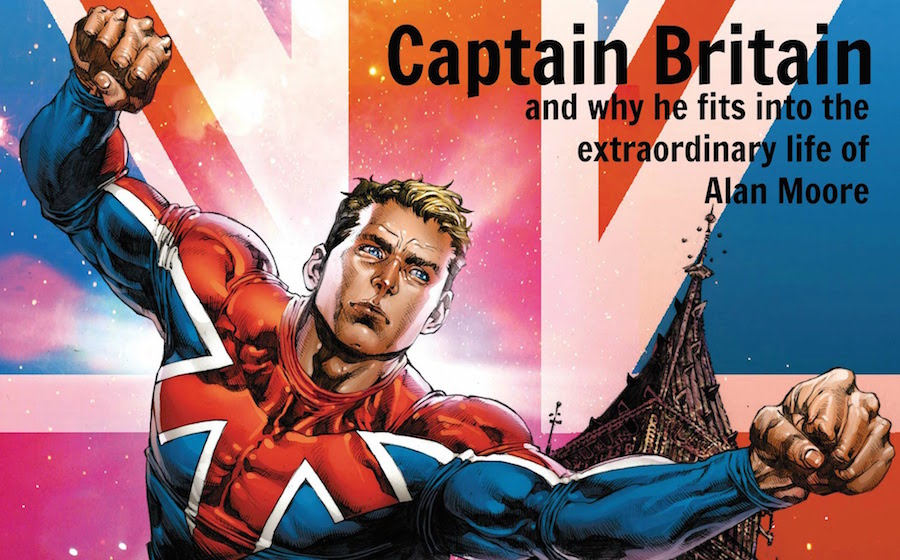 Alan Moore - Captain Britain