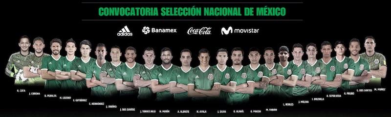 Sorpresa para México: los hermanos Dos Santos, Marco Fabián y Alan Pulido regresan a la Selección