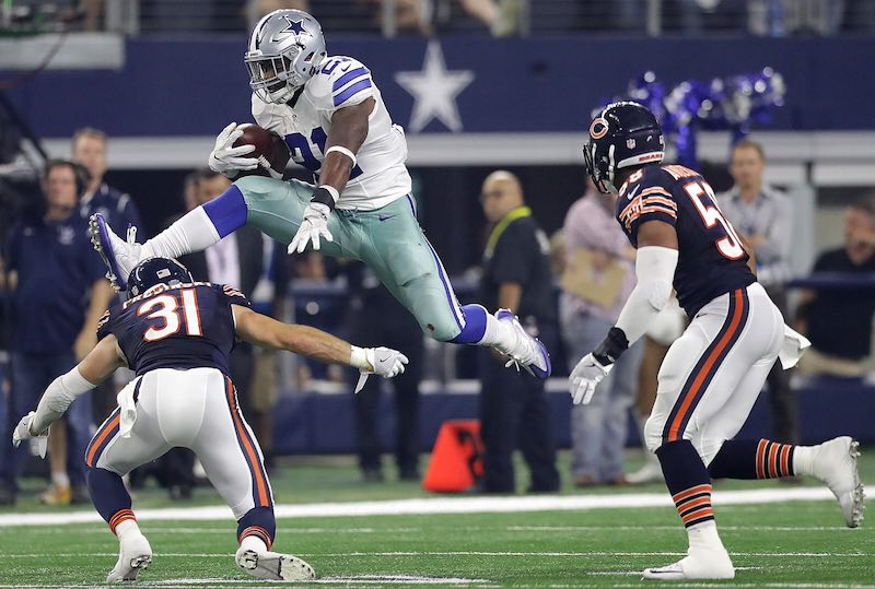 Chicago Bears versus Dallas Cowboys