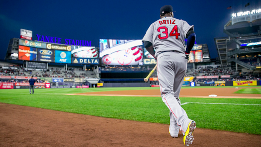 David Ortiz aterrará por última vez a los New York Yankees
