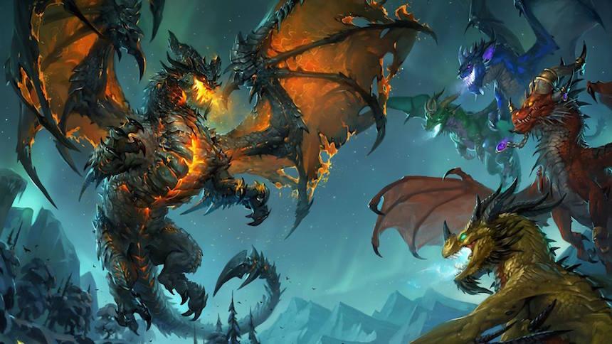 Deathwing vs Dragon Aspects