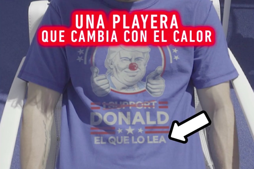 Camisas Donald Trump
