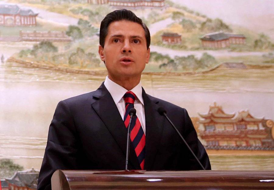 El presidente Enrique Peña Nieto declaró que sus decisiones se comprenderán después de un tiempo