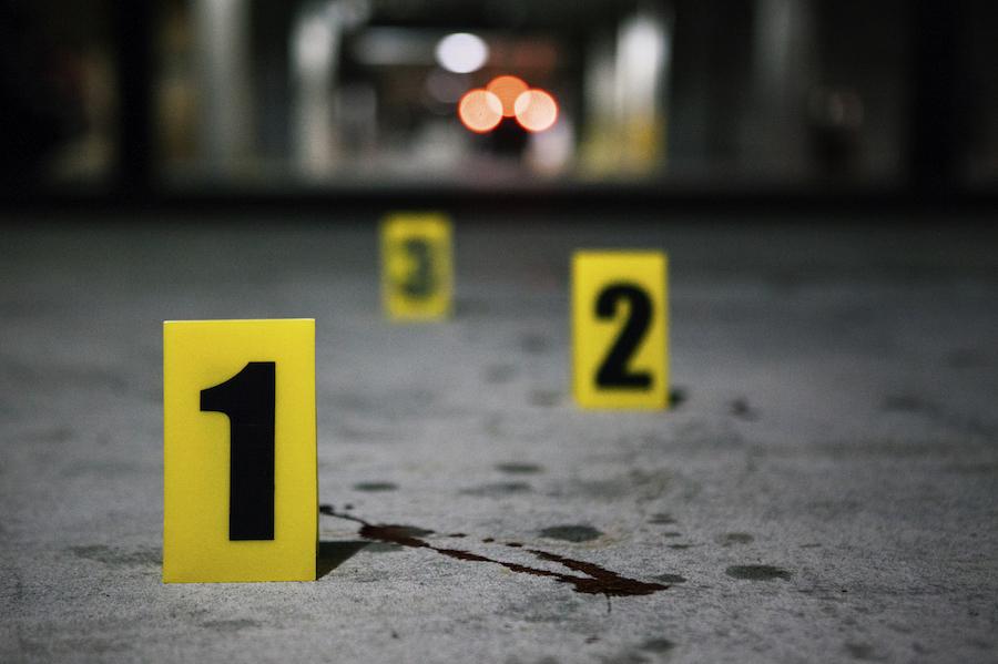 Escena de un crimen
