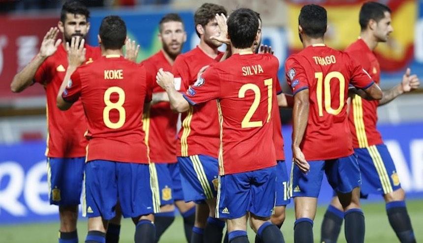 Partido España vs Liechtenstein