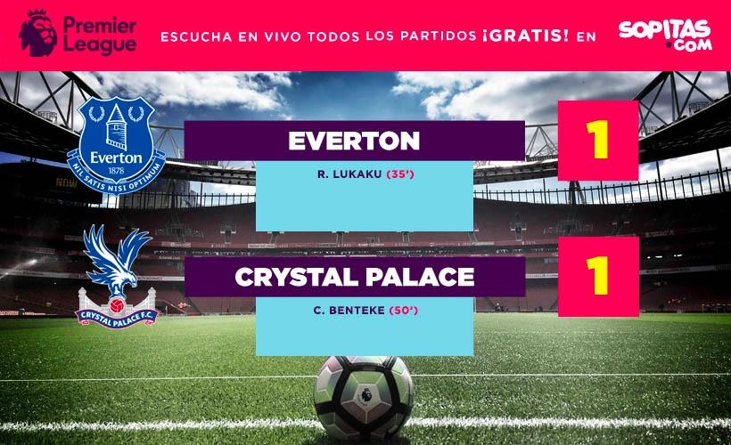 Everton y Crystal Palace nos regalaron un gran partido