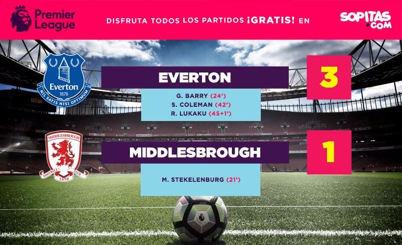 El Everton sigue con su paso increíble en la Premier League y se colocan en el segundo puesto
