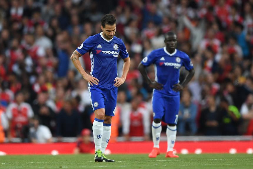Fábregas ha tenido pocas oportunidades con los Blues