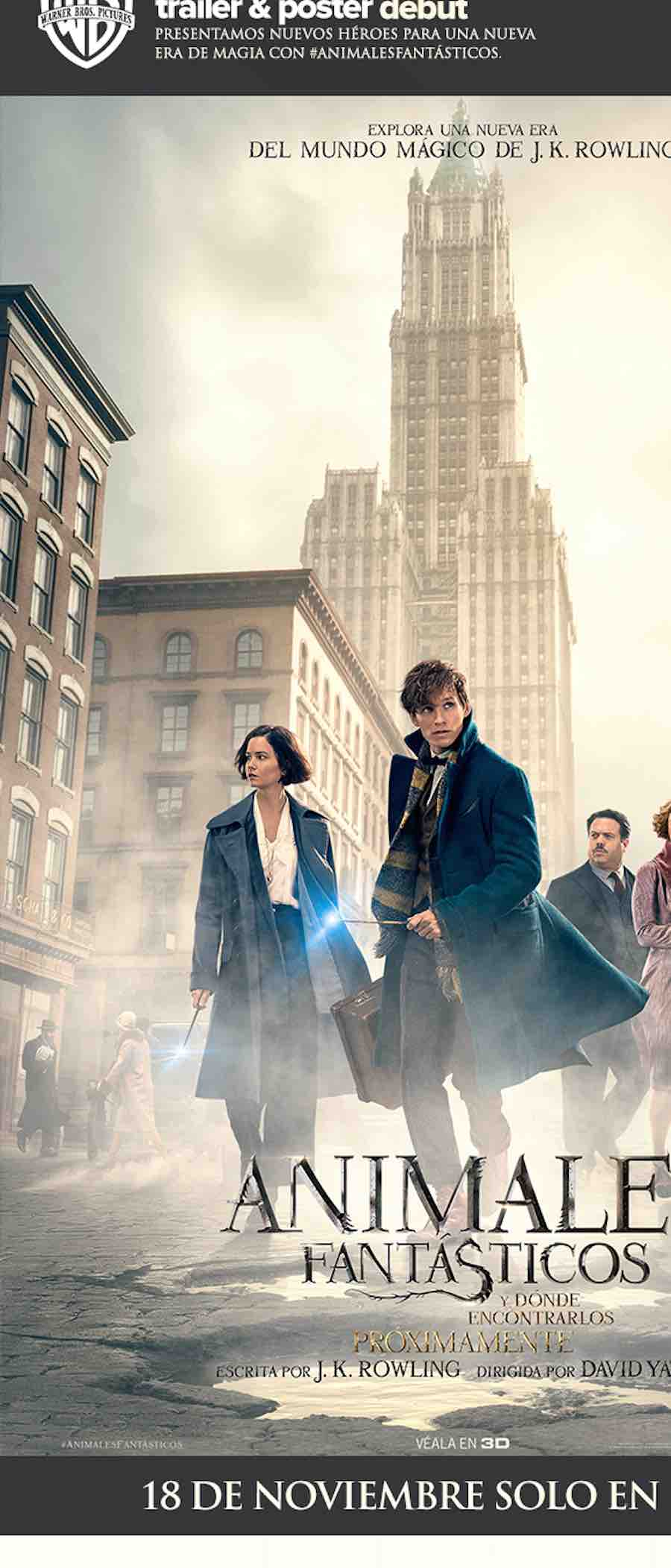 Nuevo póster de Fantastic Beasts and Where to Find Them