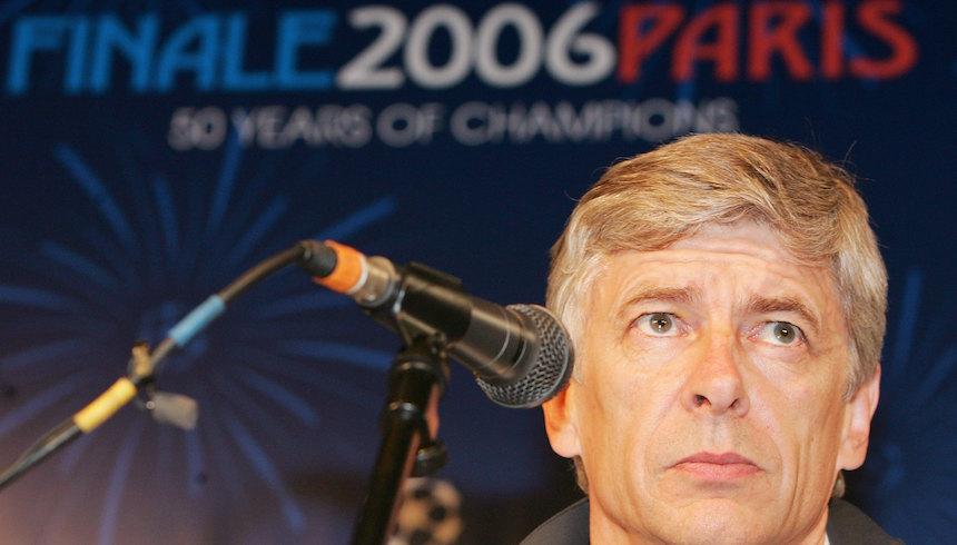 Arsene Wenger solo ha dirigido una final de Champions