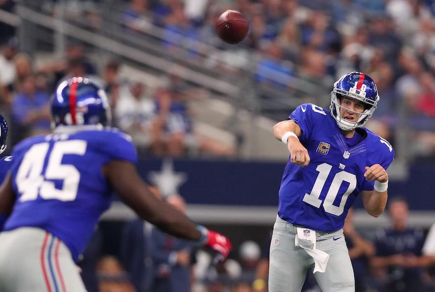 Giants vs Dallas - Semana 1 NFL