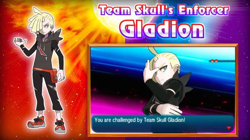 Gladion Team Skull Pokémon Sun/Moon