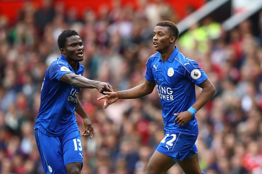 El Leicester City decepcionó en su visita al Old trafford