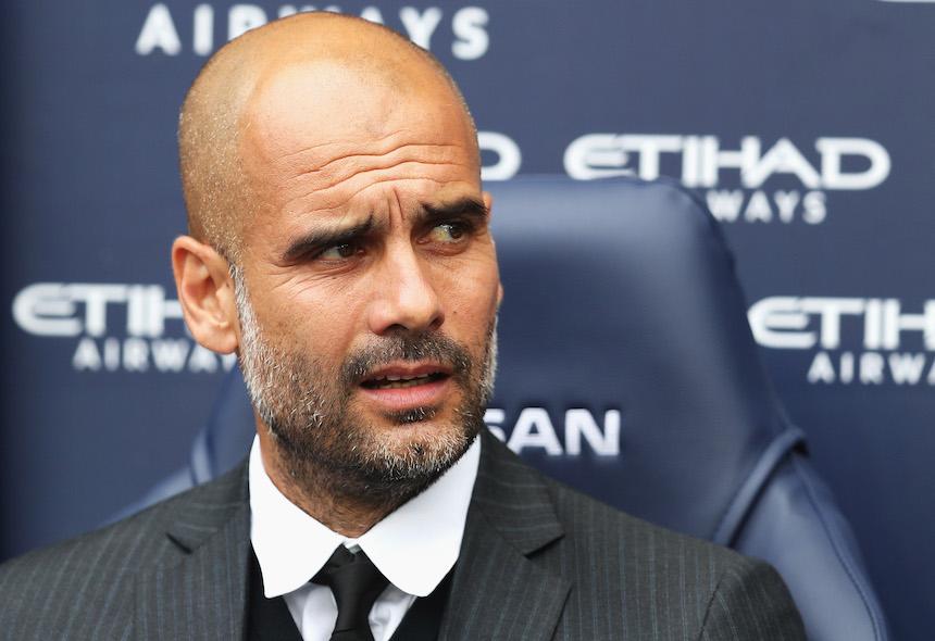 Guardiola hablo previo al encuentro contra el Manchester United