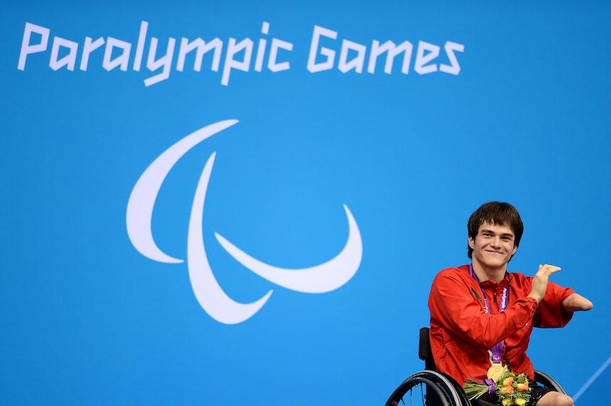 Gustavo Sánchez, atleta paralímpico mexicano