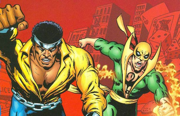Iron Fist Luke Cage Cómic