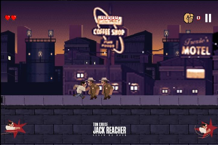 Jack Reacher Never Stop Punching